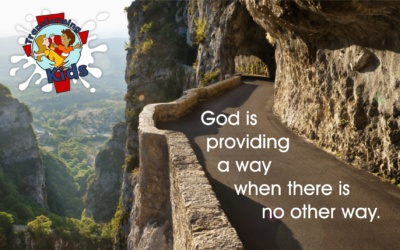 God providing a way where no other way.