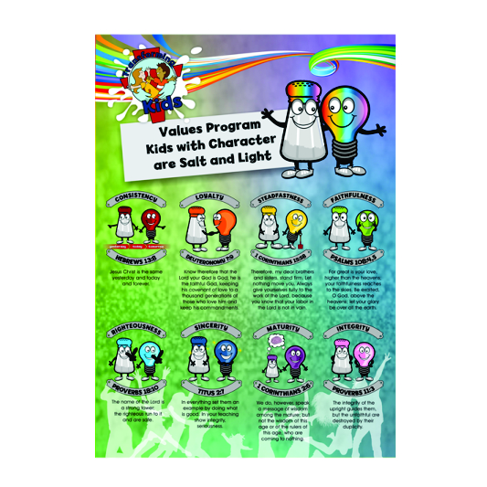I5. Values Program – Salt & Light – A2 Posters – English